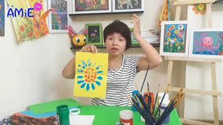 Hướng dẫn cách dạy trẻ làm quen với sơn acrylic- Ms Jenny