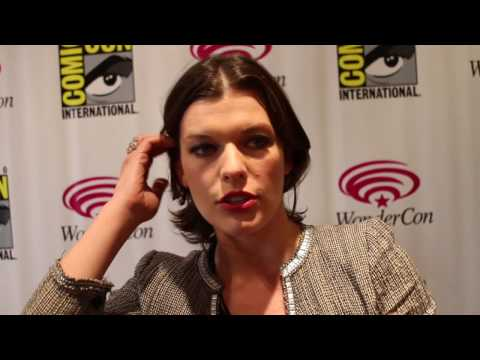 WonderCon 2010 - Resident Evil: Afterlife Interview with Milla Jovovich