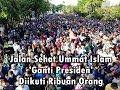 Ribuan Ummat Islam Ikuti Jalan Sehat Ganti Presiden di Solo