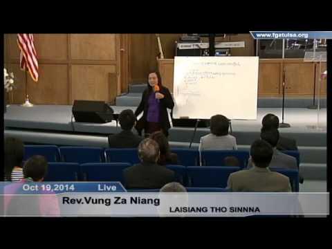 [FGATulsa]#1067# Oct 19,2014 LAISIANG THO SINNA (Pastor Nian
