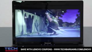 Lenovo Ideapad Z580 Laptop Video Review (HD)