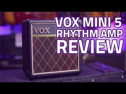 Vox Mini 5 Rhythm Guitar Amp Review – A Fantastic Busking Amp