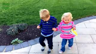 Funny Twin Babies Laughing Compilation (2018)