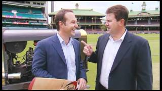 Mark Taylor & Michael Slater at the SCG