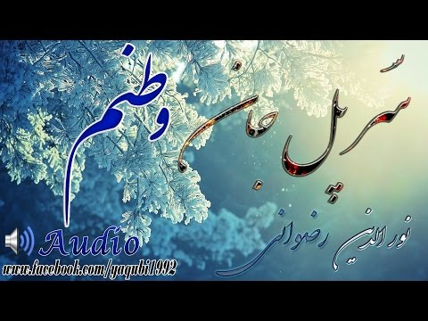 Nooruddin Rezwani - Sar e Pul jan Vatanim - نورالدین رضوانی - سرپل جان وطنم