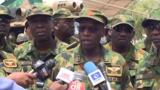 Nigerian Air Force Inspects Kaduna Airport