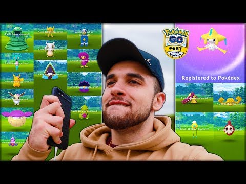 THE NEW BEST DAY OF MY POKÉMON GO CAREER! (Pokémon GO Fest 2019)
