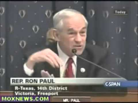 Ron Paul  Ben Bernanke, Fed, Debt, Crisis, Collapse
