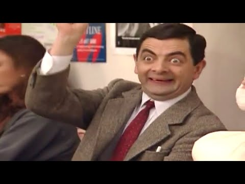 Mr Bean - Queue jumping in hospital Video