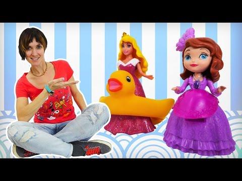 Принцессы Дисней - Видео для девочек - Детский Сад Капуки