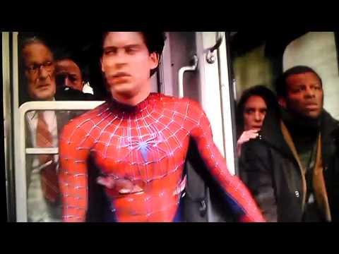 carlos inga: hombre araña 2 ataque en el tren (720p HD) español latino