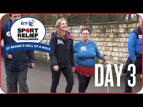 Jo Brand's Hell of a Walk | Day 3 - Gabby Logan