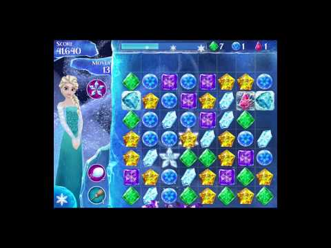 Disney Frozen Free Fall Level 73