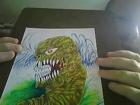 Vlog #12 Demon Maggot Art Print Update