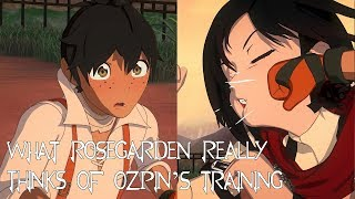 What Oscar and Ruby REALLY Think of Ozpin's Training [Ft. Mari FanDubs](RWBY Thoughts)