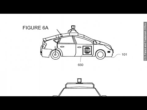 Google's Driverless Car Patent Could Have Autos Talking - Newsy