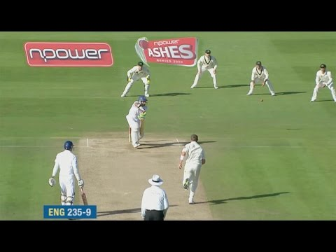 Highlights - Anderson and Panesar save England - Cardiff Ashes Test 2009