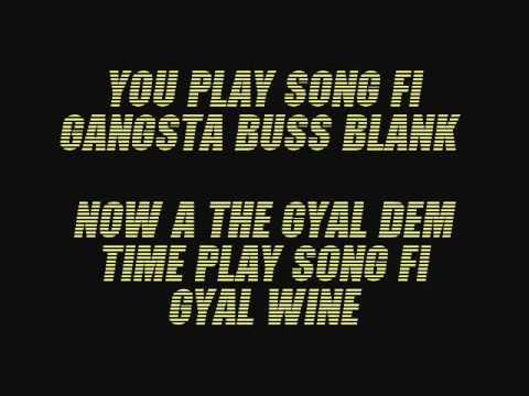 Konshens Gyal A Bubble Lyrics (follow dancehalllyrics) video