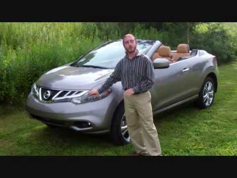 nissan murano crosscabriolet convertible suv youtube