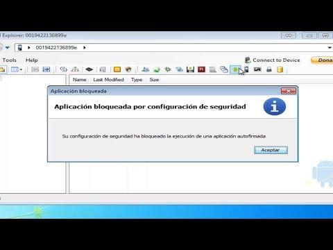Solucion - Aplicacion Bloqueada por configuracion de Seguridad de Java