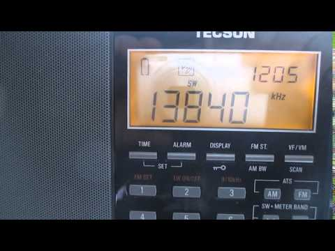 Tecsun pl880 receiving radio New Zealand from the UK.