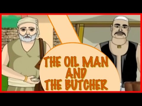 Akbar And Birbal - The Oil Man And The Butcher - Hindi video