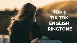 Top 5 Tik Tok English Ringtone 2019   Download Now   Me Ringtones