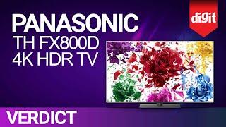 Panasonic TH FX800D 4K HDR TV Review | Digit.in