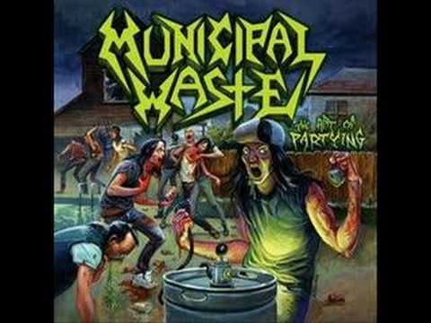 Municipal Waste - Headbanger Face Rip