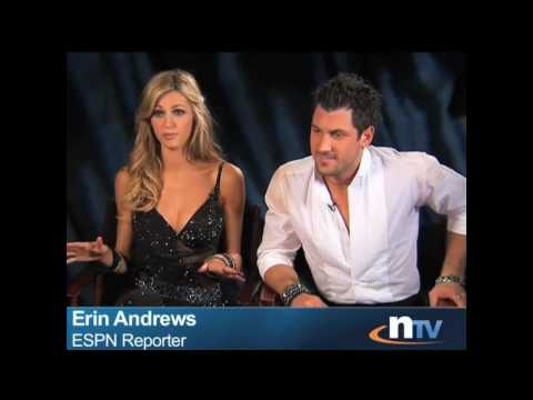 Erin Andrews & Maksim Chmerkovskiy DWTS Title Shoot Interview