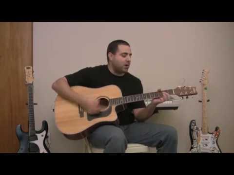 Richie plays Twenty Flight Rock by Eddie Cochran (Paul McCartney style)