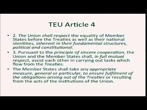 Sir David Edward - Scotland's EU membership