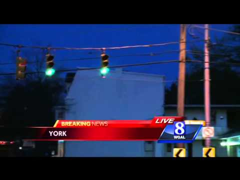 Underground electrical fire causes problems in York