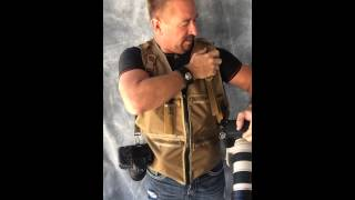 Slimline Ultra Photo Vest -  Photography Vest