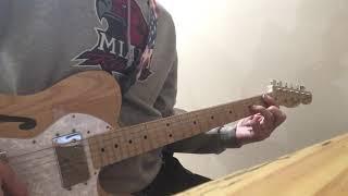 Electric guitar cover Jason Aldean Rearview Town