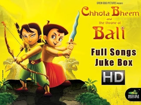 Chhota Bheem and the Throne of Bali Movie Full Songs | Juke...