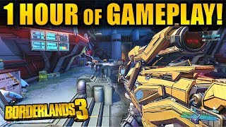Over 1 HOUR of New Borderlands 3 GAMEPLAY!