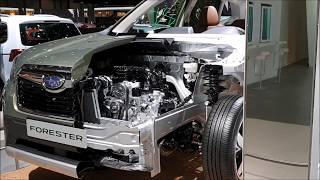2020 New Subaru Forester 2.0 e-Boxer Hybrid | Subaru Forester How it is made