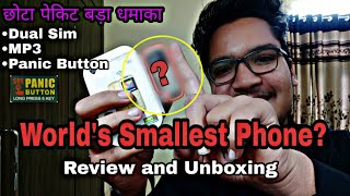 World's Smallest Phone? || Kechaoda A 26 Review & Unboxing