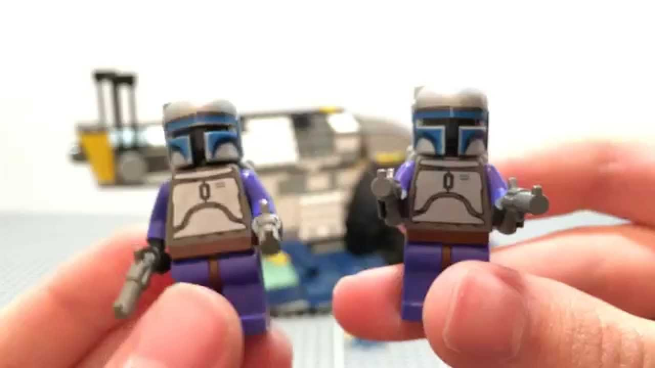 Jango Fett Lego Set Lego Star Wars Jango Fett's