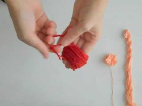 5 Minute Diy: Yarn Pom Poms video