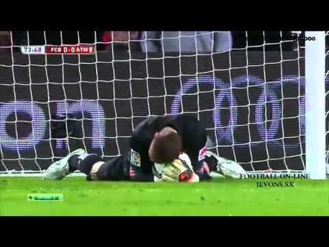 Barcelona 1-0 Atletico Madrid Copa Del  22.01.2015