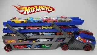 Caminhão Cegonha Hot wheels Truck