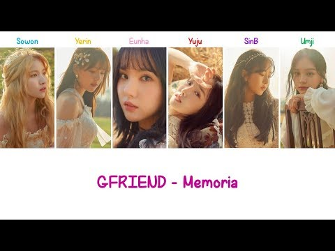 Memoria (Korean Ver.) | GFRIEND Lyrics [ENG+ROM]