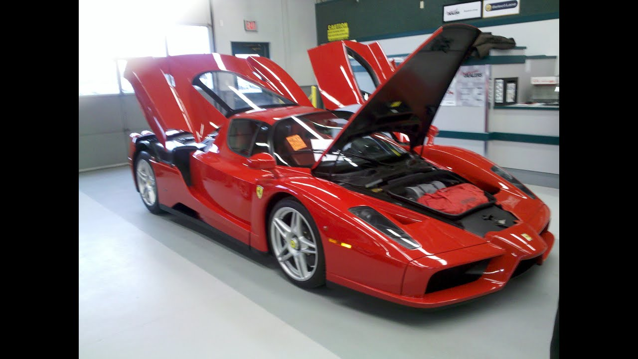 Ferrari Enzo Sells For Over