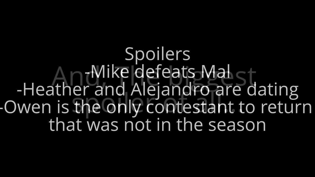 Total Drama Season 6 Winner Total Drama All Stars Season