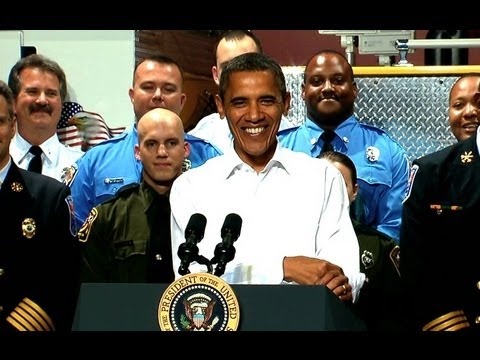 President Obama on the American Jobs Act in Chesterfield, Virginia