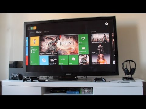 My NEXT GEN Gaming Setup!! (PS4 & Xbox One Gaming Setup)