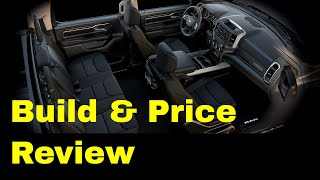 2019 Ram 1500 Big Horn / Lone Star Crew Cab with Sport Package - Build & Price Review