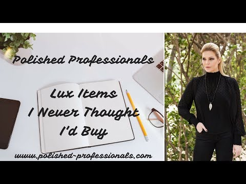 Luxury Items I Never Thought I'd Buy (TAG Video)